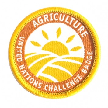 Agriculture - UN Challenge Badge (Pack of 10)