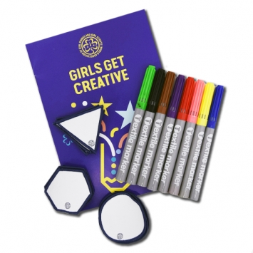Creative badge kit
