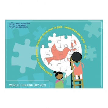 World Thinking Day 2021 - Stand Together For Peace Activity Pack