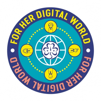 For Her Digital World badge