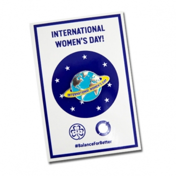 Official International Women's Day Pin