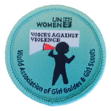 Voices Against Violence badges (Pack of 10)