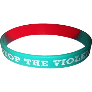 Stop The Violence wristband