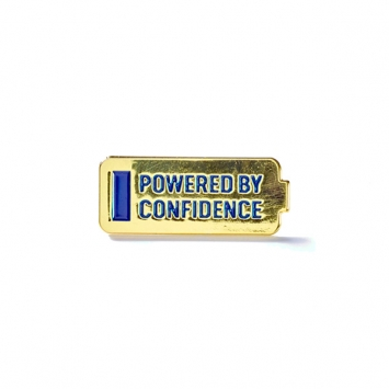 Powered by Confidence Pin